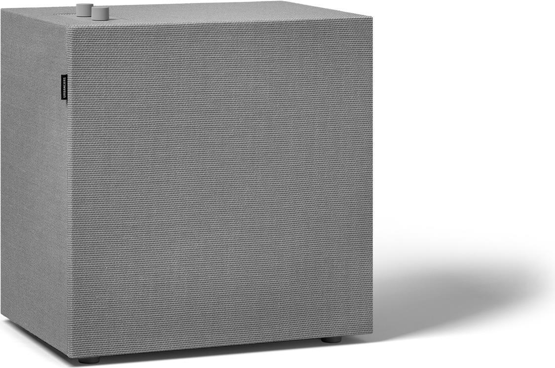Lautsprecher - Urbanears Baggen Concrete Grey Multiroom Lautsprecher (WiFi, Bluetooth 4.2, AirPlay, Spotify Connect, 3.5mm Input) (04091932)  - Onlineshop JACOB Elektronik
