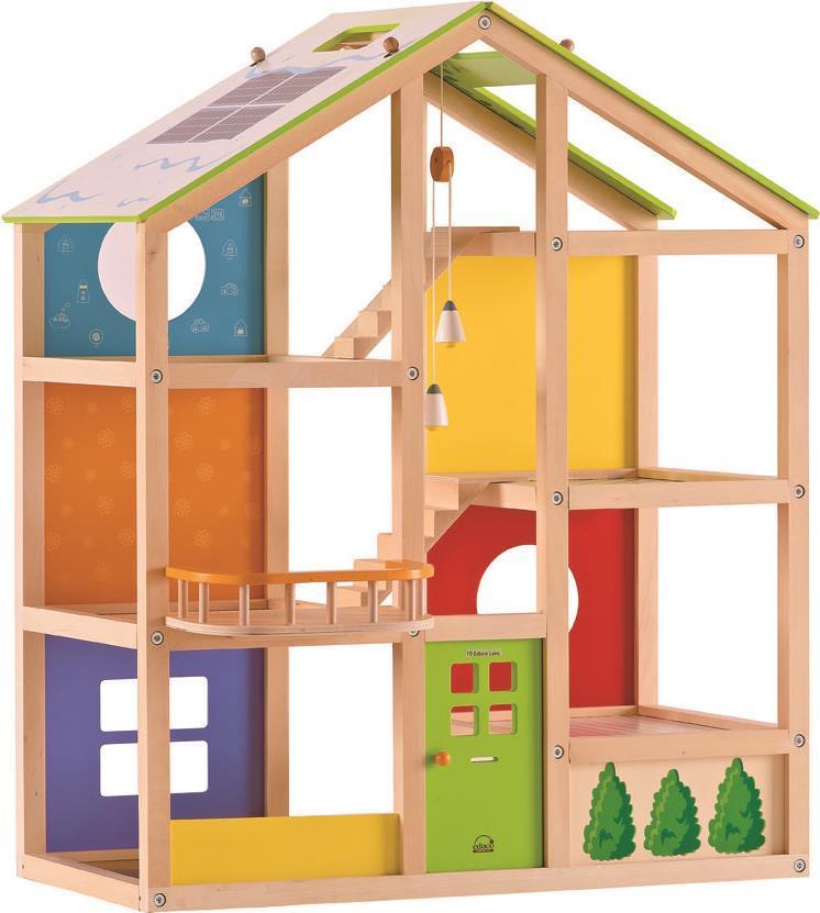 HAPE Puppenhaus aus Holz, E3400