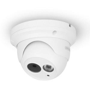 Eminent EM6360 - Netzwerk-Überwachungskamera - Kuppel - Außenbereich - Farbe (Tag&Nacht) - 1280 x 720 - feste Brennweite - LAN 10/100 - H.264 - DC 12 V (EM6360)