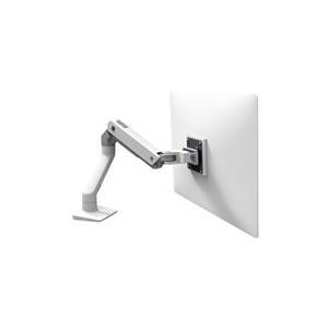 Ergotron HX Desk Monitor Arm - Befestigungskit (Gelenkarm, Spannbefestigung für Tisch, Tischplattenbohrung, Pivot, Befestigungselemente, extension part) weiß Bildschirmgröße: bis zu 106,7 cm (bis 106,70cm (42) ) Tischmontage jetztbilligerkaufen