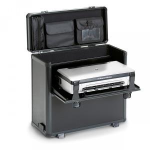 Computertaschen - DICOTA DataBox XL Trolley HP OJ 200 Notebook und Drucker im robusten Koffer mit abnehmbarem Trolley System (D31249)  - Onlineshop JACOB Elektronik