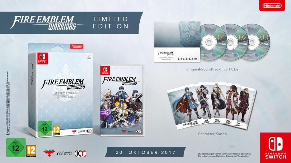 Fire Emblem Warriors Limited Edition - Nintendo...