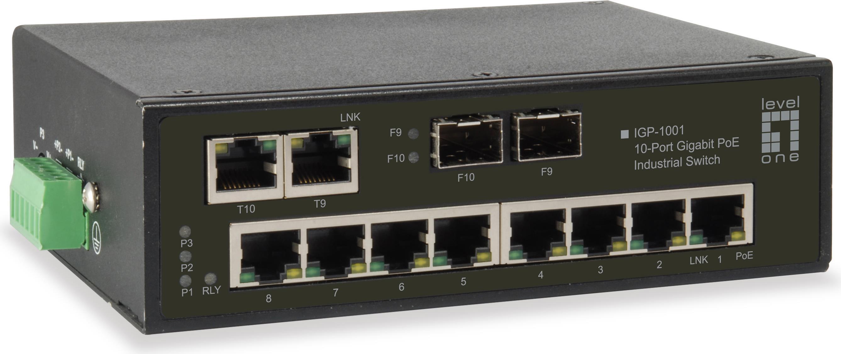 LevelOne IGP-1001 Gigabit Ethernet (10/100/1000...