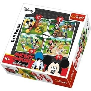 4in1 Clubs Mickey Mouse, Spaß im Park (34261)