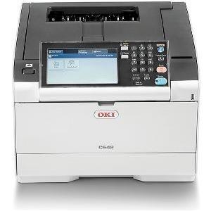 Drucker, Scanner - OKI C542dn Drucker Farbe Duplex LED A4 1200 x 1200 dpi bis zu 30 Seiten Min. (s w) bis zu 30 Seiten Min. (Farbe) Kapazität 350 Blätter USB 2.0, Gigabit LAN, USB 2.0 Host  - Onlineshop JACOB Elektronik