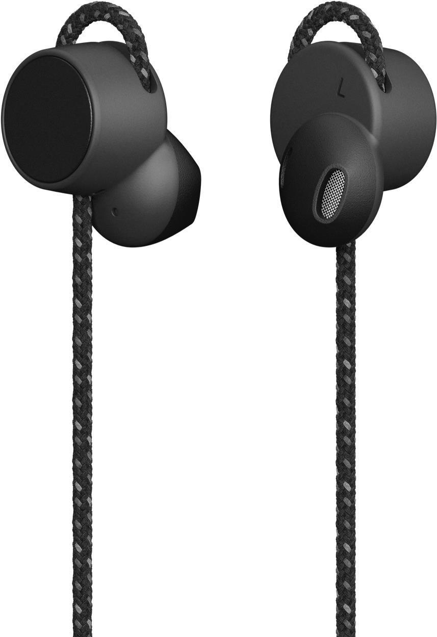 Audiozubehör - Urbanears Jakan Bluetooth Charcoal Black In Ear Bluetooth Kopfhörer (1 Tasten Fernbedienung, Mikrofon, Magnetische Ohrhörer) (04092175)  - Onlineshop JACOB Elektronik