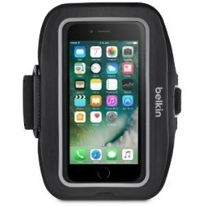 Belkin Sport-Fit Armband - Arm Pack für Mobiltelefon - Neopren - Schwarz - für Apple iPhone 7 (F8W781BTC00)