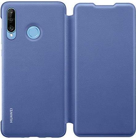 Image of Huawei Wallet - Flip-Hülle für Mobiltelefon - Blau - für Huawei P30 lite (51993080)