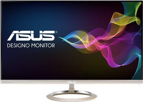 ASUS MX27UC - LED-Monitor - 68,47 cm (27) - 3840 x 2160 - AH-IPS - 300 cd/m² - 1300:1 - 5 ms - HDMI, DisplayPort, USB - Lautsprecher - Schwarz, Icicle Gold (90LM02B3-B01670)