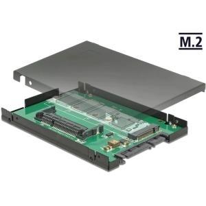 Delock 2.5 Konverter SATA 22 Pin > 1 x M.2 / 1 ...