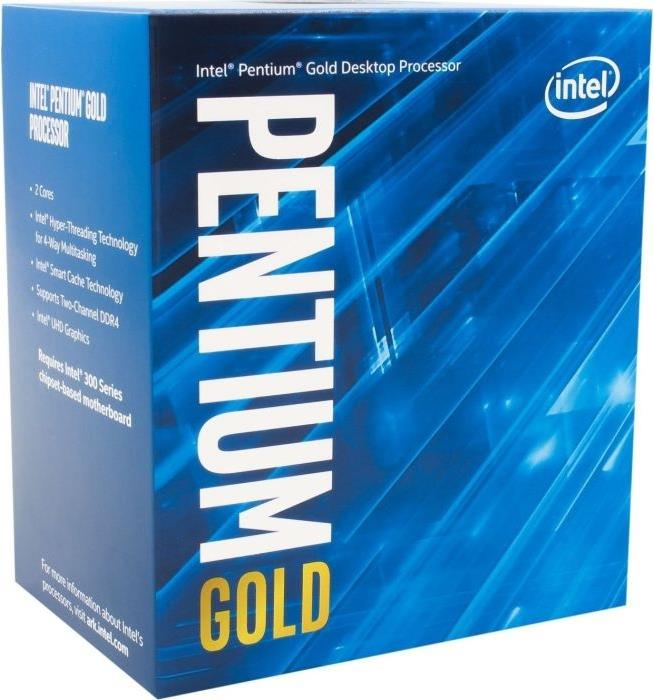 Prozessoren - Intel Pentium Gold G5500 3.8 GHz 2 Kerne 4 Threads 4 MB Cache Speicher LGA1151 Socket Box  - Onlineshop JACOB Elektronik