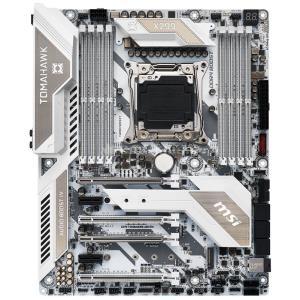 MSI MB X299 Tomahawk Arctic Intel X299 Mainboard - ATX - Intel X299 (7B05-003R)