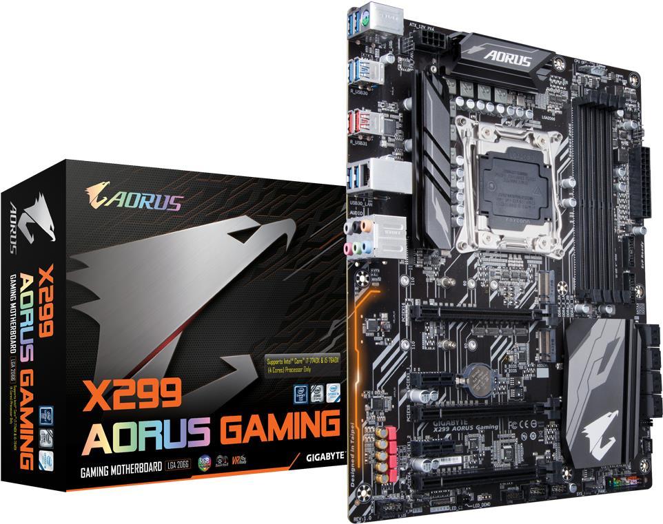 Gigabyte X299 AORUS Gaming Intel X299 LGA 2066 ATX Motherboard (X299 AORUS Gaming)