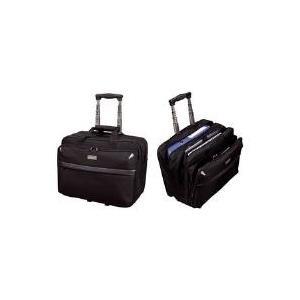 Computertaschen - LiGHTPAK Business Notebook Trolley 'XRAY', Nylon, schwarz arretierbares Trolleysystem 99 cm, Reißverschlussvortasche (46099)  - Onlineshop JACOB Elektronik