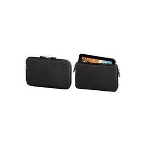 Hama Tab Sleeve for Tablet PCs - Tasche für Tablet - PolyTex - Schwarz - für Acer ICONIA Tab A100, A100-07B08c, A100-07B16c, A100-07u08u, A101 (108251)