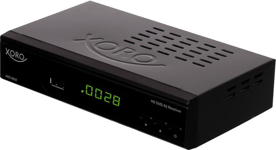 Xoro HRS 8658 Satellit Full-HD Schwarz TV Set-T...