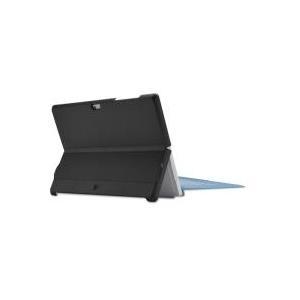 Case Logic KickBack Case - Hintere Abdeckung für Tablet - Polycarbonat - Schwarz - für Microsoft Surface 3