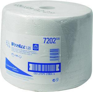 WYPALL* Putztuch Wypall L20-7202 weiß 1lagig L.380xB.240mm 1000Abrisse (7202) jetztbilligerkaufen
