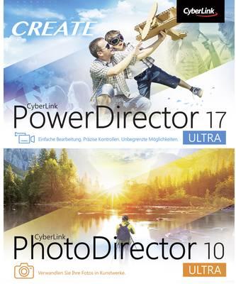 Cyberlink Vollversion, 1 Lizenz Windows Bildbearbeitung, Videobearbeitung (PowerDirec.17Ultra&PhotoDirec.10UltraDuo)