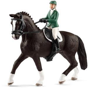 Schleich Horse Club Springreiterin mit Pferd (4...