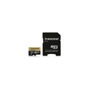 Speicherkarten, Speichermedien - Transcend Ultimate Flash Speicherkarte (microSDXC an SD Adapter inbegriffen) 16GB UHS Class 3 microSDXC UHS I (TS16GUSDU3M)  - Onlineshop JACOB Elektronik