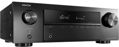 Verstärker, Receiver - Denon AVR X250BT 5.1 AV Receiver 5x130 W Schwarz 4K UltraHD, Bluetooth® (AVRX250BTBKE2)  - Onlineshop JACOB Elektronik