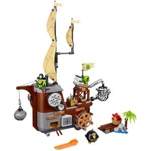 LEGO Angry Birds Piggy Pirate Ship - Bild - Jun...