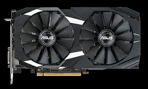 ASUS DUAL-RX580-4G - Grafikkarten - Radeon RX 580 - 4 GB GDDR5 - PCIe 3.0 x16 - DVI, 2 x HDMI, 2 x DisplayPort