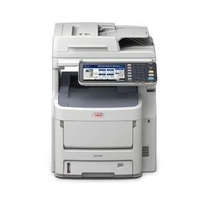Drucker, Scanner - OKI MC760dnfax Multifunktion (Faxgerät Kopierer Drucker Scanner) Farbe LED A4 (210 x 297 mm) (Original) 216 x 1321 mm (Medien) bis zu 28 Seiten Min. (Kopieren) bis zu 28 Seiten Min. (Drucken) 630 Blatt 33.6 Kbps USB 2.0, Gigabit  - Onlineshop JACOB Elektronik