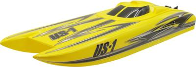 Amewi Alpha Flame Yellow Scheme RC Motorboot Rt...