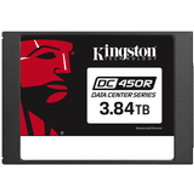 "KINGSTON 3.84TB DC450R 6,35cm 2.5"" SATA SSD Entry Level Enterprise/Server (SEDC450R/3840G)"
