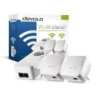 Netzwerktechnik - Devolo dLAN 550 WiFi Network Kit Netzwerk Kit Bridge an Wandsteckdose anschließbar (9624)  - Onlineshop JACOB Elektronik