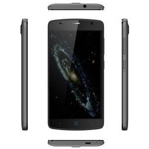 ZTE Blade L5 - Smartphone Dual-SIM 3G 8GB microSDHC slot GSM 12,70cm (5) 854 x 480 Pixel TFT 8 MP (2 Vorderkamera) Android Grau (126676201179) - broschei