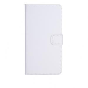 xqisit Slim Wallet Case - Flip-Hülle für Mobiltelefon - Kunstleder, Polycarbonat - weiß - für Apple iPhone 6 Plus (18078)