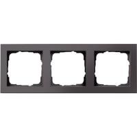 GIRA 3fach Rahmen E2, Standard 55 Anthrazit 0213 23 jetztbilligerkaufen