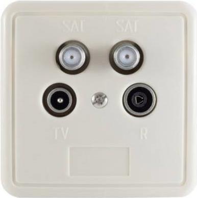 Smart Antennendosen-Set SAT, TV, BK, UKW SEA4 U...