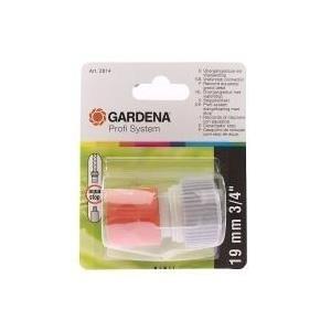 Gardena 2814-20 Schlauchkupplung Grau - Orange 1Stück(e) Anschlussteil für Wasserschlauch (2814-20)