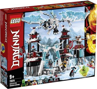 LEGO Ninjago LEGO® NINJAGO 70678 Festung im ewigen Eis (70678)