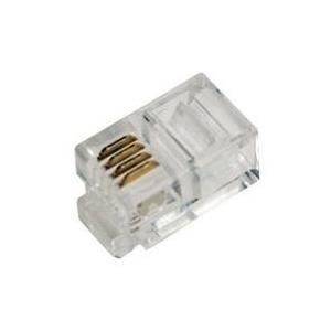LogiLink - Telefonanschluss - RJ-10 (M) - ungeschirmt