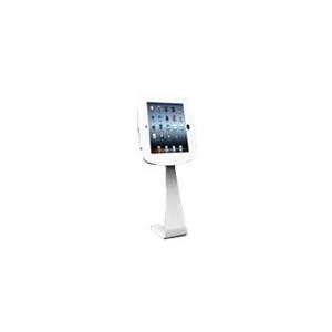 Compulocks Secure Space - Befestigungskit (Gehäuse, swan stand kiosk) für Tablett - verriegelbar - Schwarz - Bildschirmgröße: 24,6 cm (9.7) - für Apple 9.7 iPad Pro, iPad, iPad 2, iPad Air, iPad Air 2, iPad with Retina display (179B224SENB)