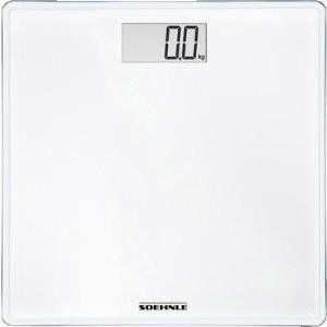 Soehnle Sense Compact 200 Elektronische Personenwaage Quadratisch Weiß (63851)