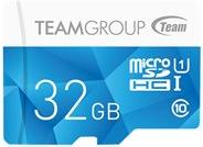 Speicherkarten, Speichermedien - Team Color Card Flash Speicherkarte (SD Adapter inbegriffen) 32 GB UHS Class 1 Class10 microSDHC UHS I Blau  - Onlineshop JACOB Elektronik
