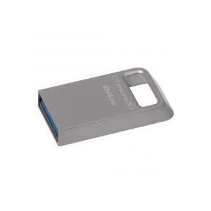 Kingston DataTraveler Micro 3.1 - USB-Flash-Laufwerk - 64 GB - USB 3.1
