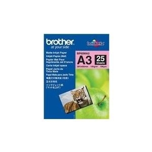Brother BP - Papier, matt - A3 Nobi (328 x 453 mm) - 25 Blatt (BP60MA3)