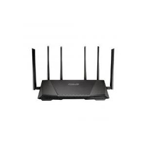 ASUS RT-AC3200 - Wireless Router - 4-Port-Switch - GigE - 802.11a/b/g/n/ac - Tri-Band