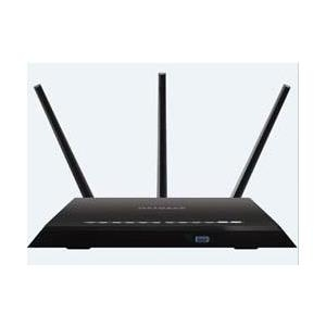 NETGEAR R7000 - Wireless Router - 4-Port-Switch - GigE, 802,11ac - 802,11 a/b/g/n/ac (R7000-100PES)