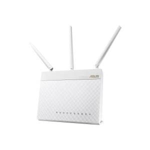 ASUS RT-AC68U - Wireless Router - 4-Port-Switch - GigE - 802.11a/b/g/n/ac - Dual-Band