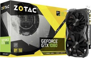 ZOTAC GeForce GTX 1080 Mini - Grafikkarten - GF GTX 1080 - 8 GB GDDR5X - PCIe 3.0 x16 - DVI, HDMI, DisplayPort