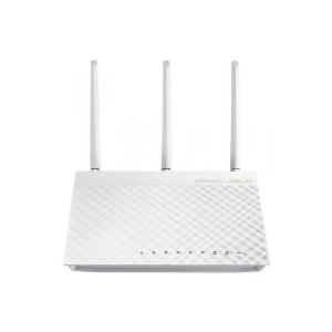 ASUS RT-AC66U - Wireless Router - 4-Port-Switch - GigE - 802,11a/b/g/n/ac - Dualband - wandmontierbar (90-IGY7002M03-3PA0-)