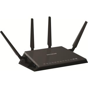 NETGEAR Nighthawk X4S R7800 - Wireless Router - 4-Port-Switch - GigE - 802,11a/b/g/n/ac - Dualband (R7800-100PES)